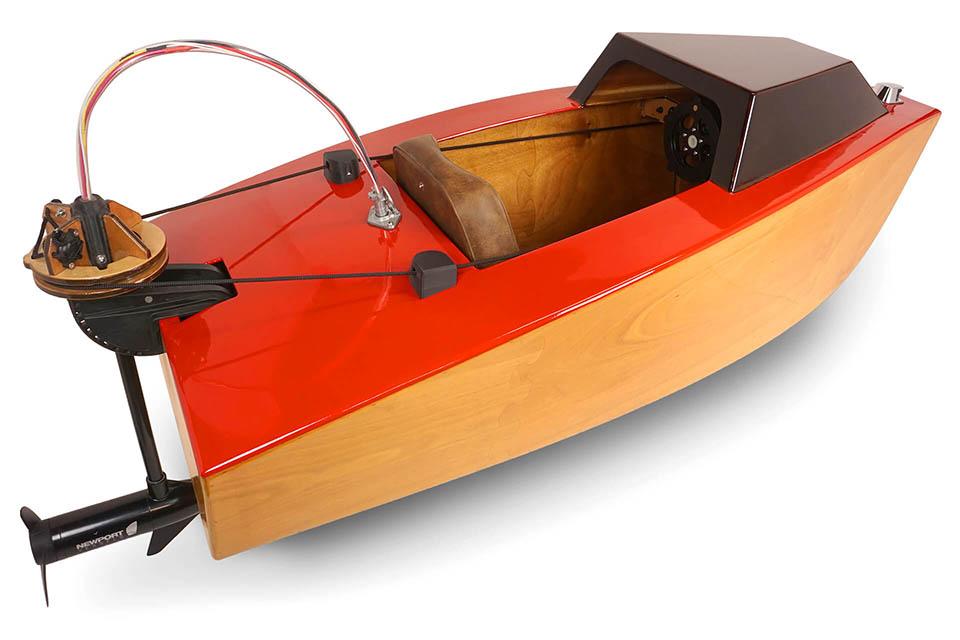 Rapid Whale Mini Boat