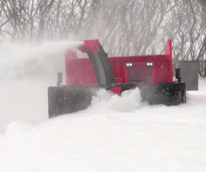 RC Truck with Snowblower