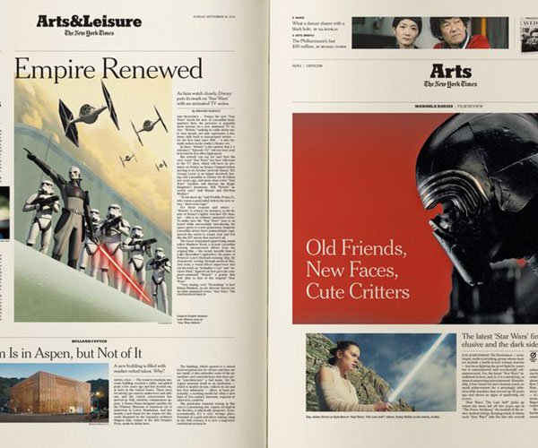 The New York Times Star Wars Book