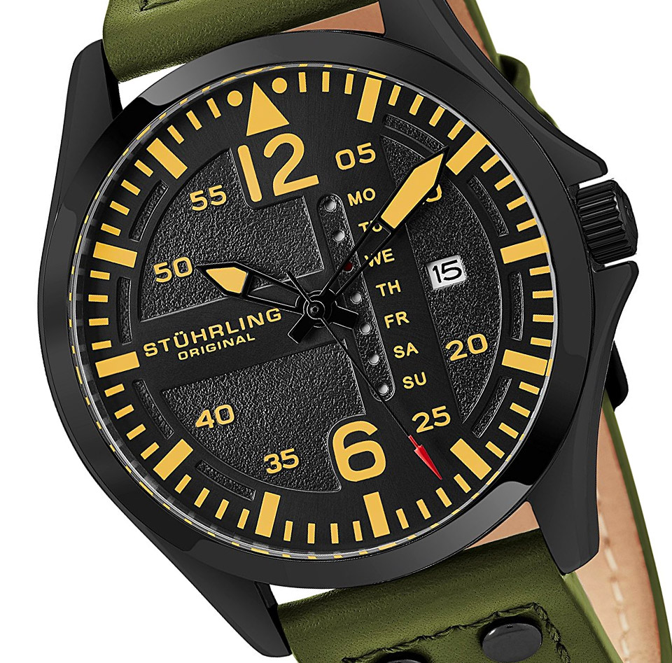 Stührling Original Aviator Watch