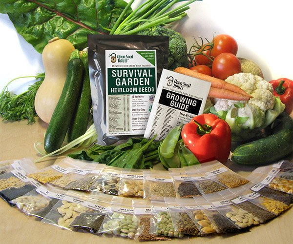 Survival Garden Seed Kit