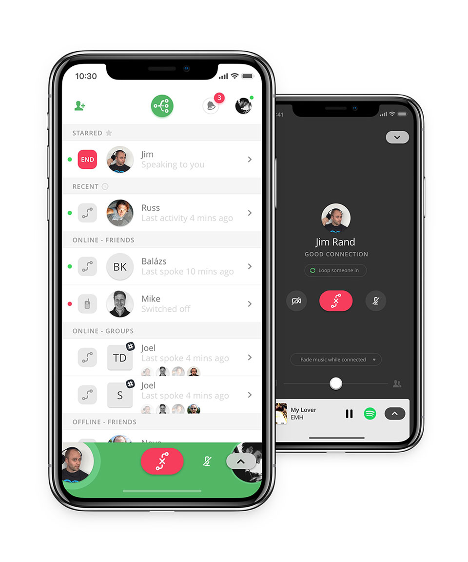 Switchboard Voice Chat for iOS