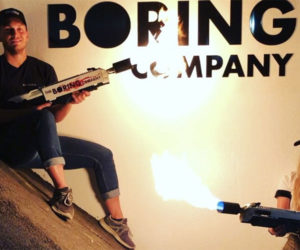 Boring Company Flamethrower