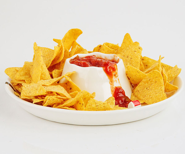 Volcano Chip and Dip Bowl