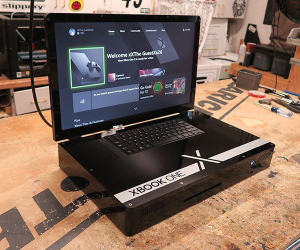 Xbox One X Laptop Case Mod