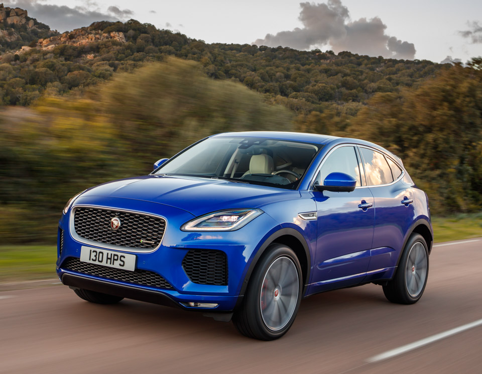we drove the 2018 jaguar e pace and it 39 s an awesome little crossover. Black Bedroom Furniture Sets. Home Design Ideas