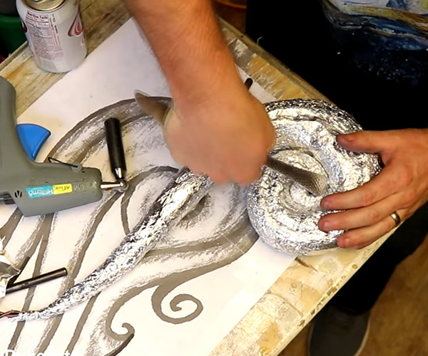 Making an Aluminum Foil Sculpture