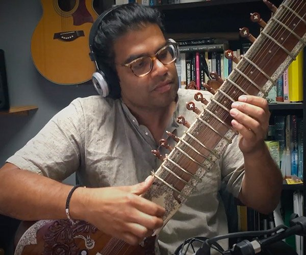 Billie Jean Sitar Cover