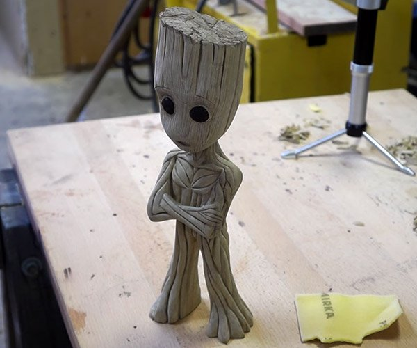 Carving Baby Groot