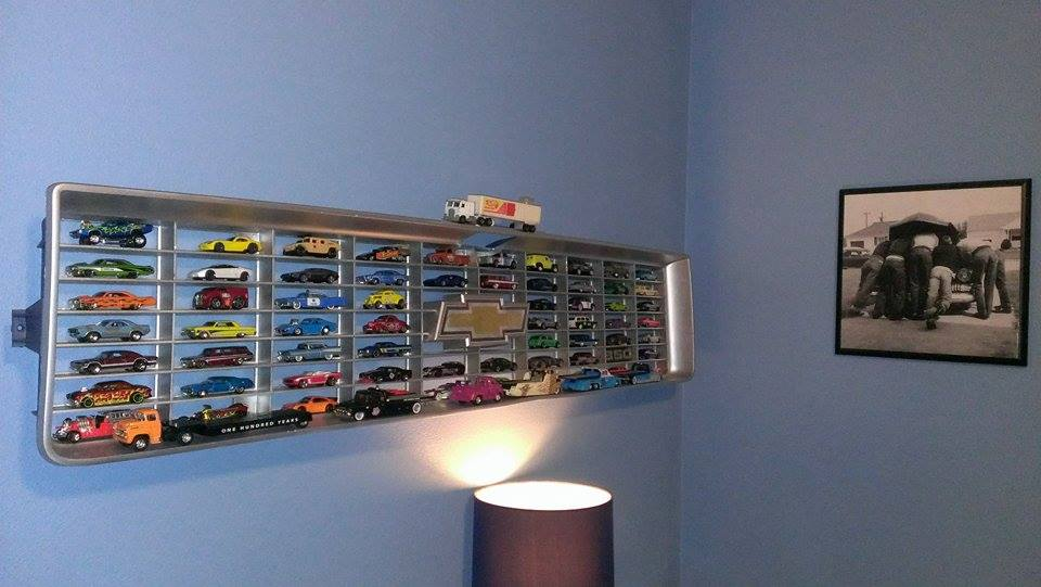 Chevy Grille Hot Wheels Display