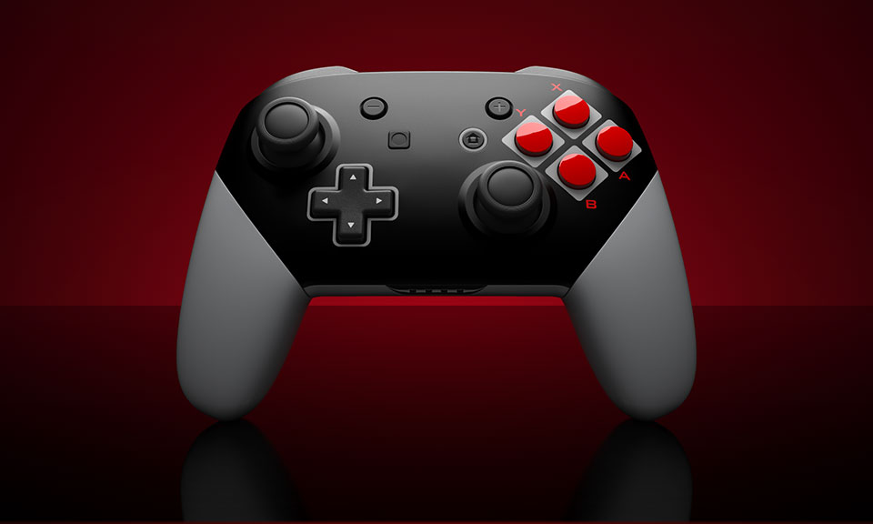 ColorWare Switch NES Controllers