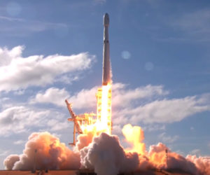 SpaceX Falcon Heavy Test Flight