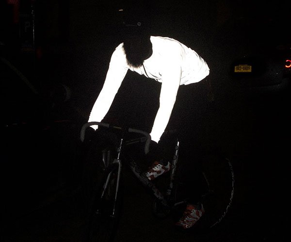 Faux Pas Reflective Cycling Jacket