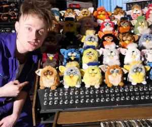 The Furby Organ