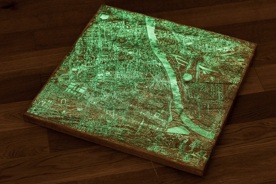 Glowing City Coffee Tables