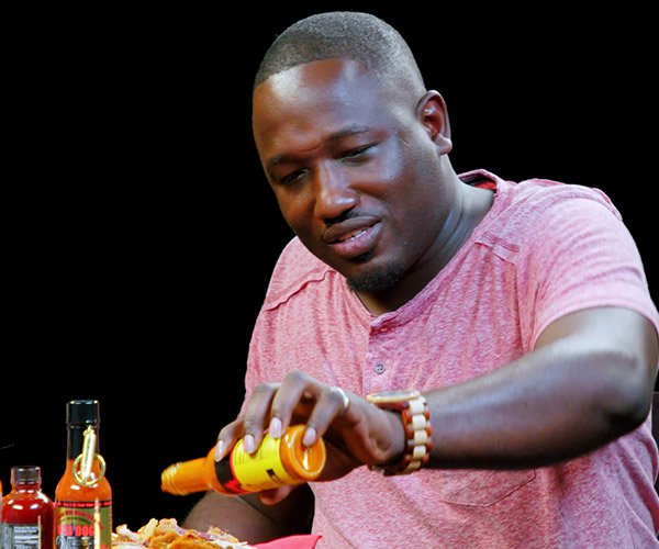 Hannibal Buress vs. Hot Wings