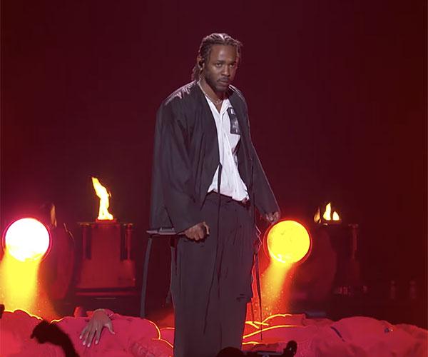 Kendrick Lamar 2018 Grammy Opener