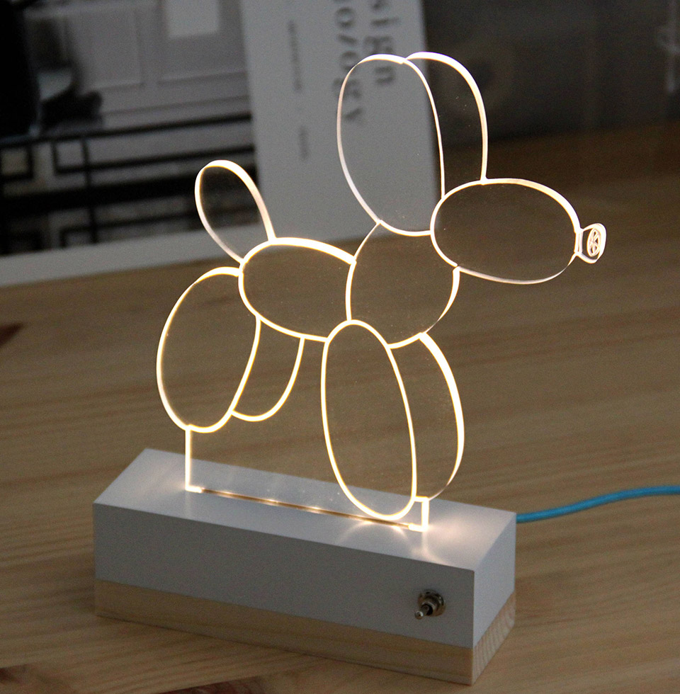 3D Illusion Animal Lamps