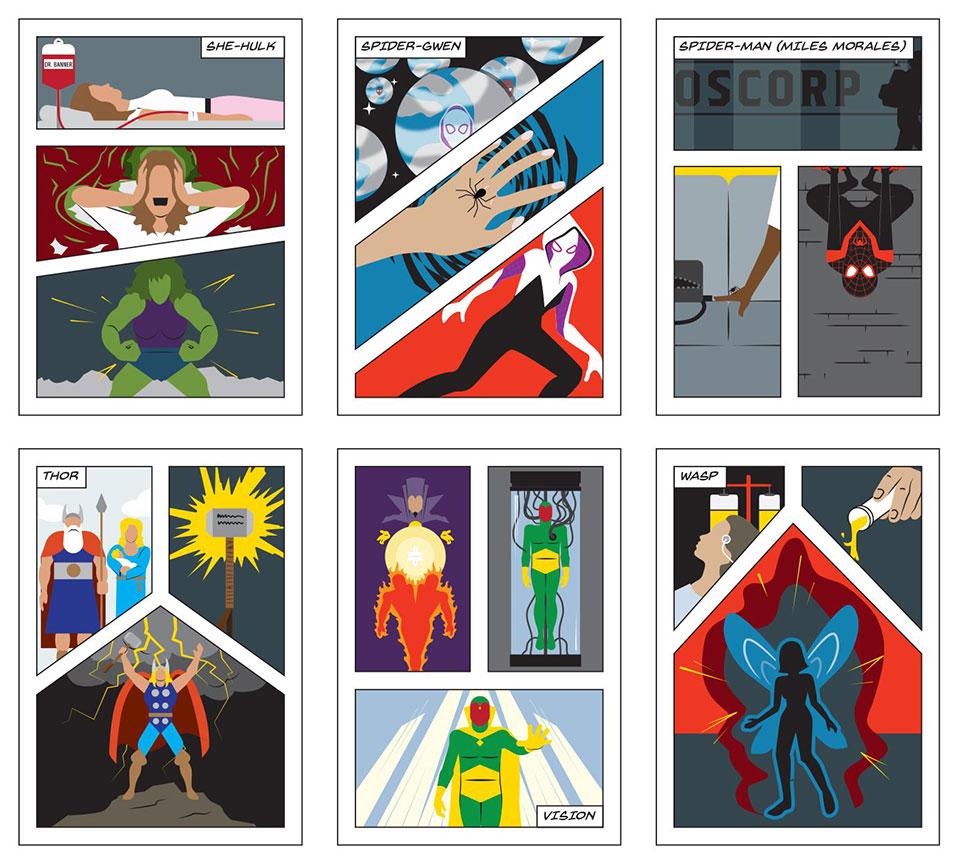Marvel Origins Compendium Poster