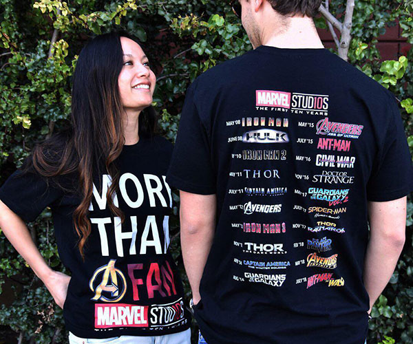 Marvel Studios 10th Anniversary T-shirt