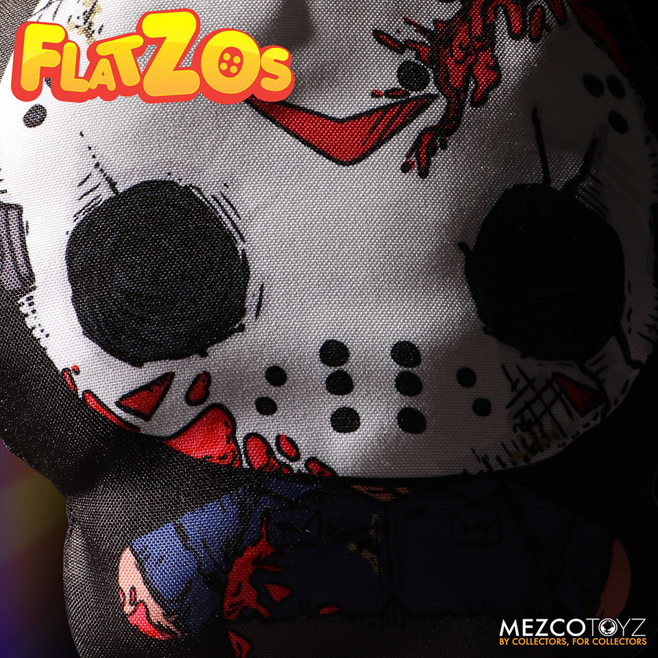 Mezco Flatzos Horror Plushes