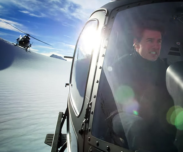 M:I Fallout Helicopter Stunt BTS