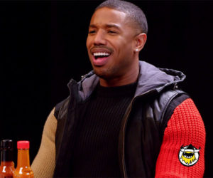 Michael B. Jordan vs. Hot Wings
