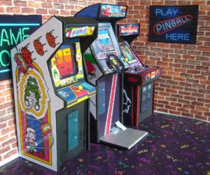 Mini Arcade & Pinball Machines