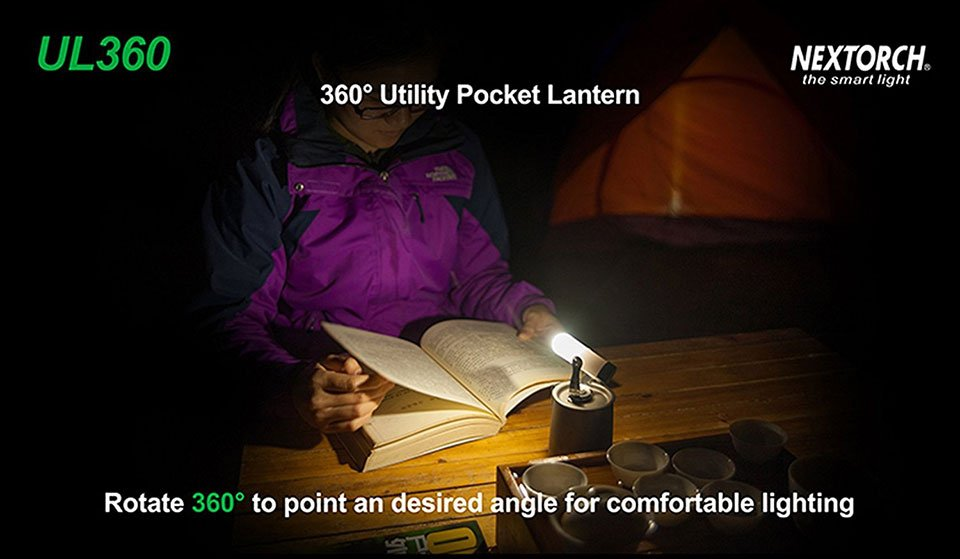 Nextorch UL360 Pocket Lantern