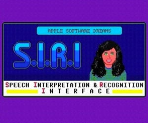 Siri in the '80s