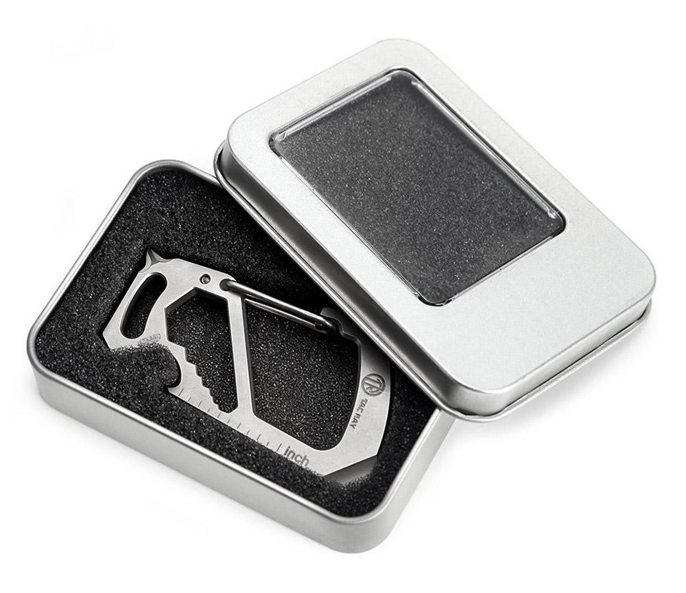 Tacray Titanium Carabiner Clip