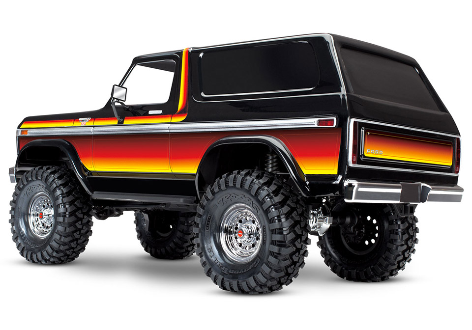 traxxas trx 4 ford bronco the awesomer. Black Bedroom Furniture Sets. Home Design Ideas
