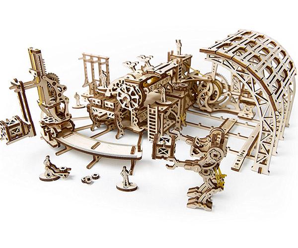 Robot Factory Wood Model