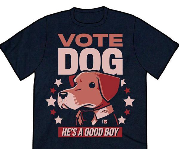 Vote Dog T-Shirt