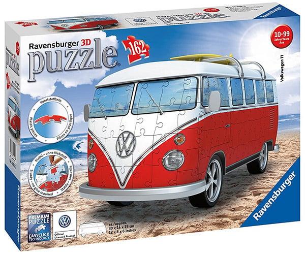VW Camper Van 3D Puzzle