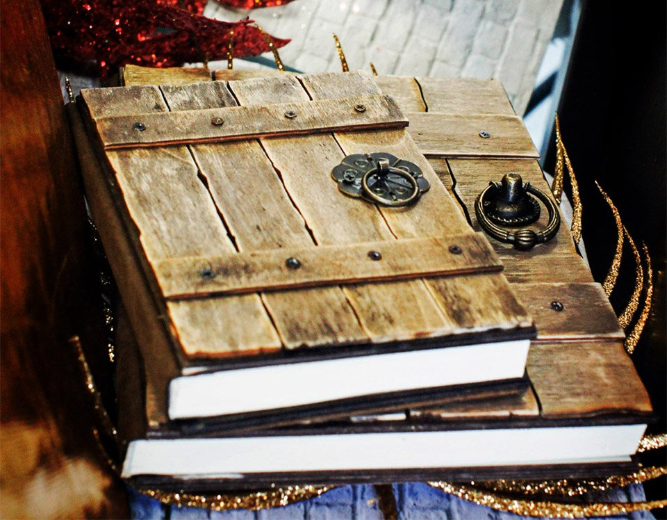 Old Wood Door Notebooks