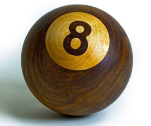 Making a Wooden 8-Ball