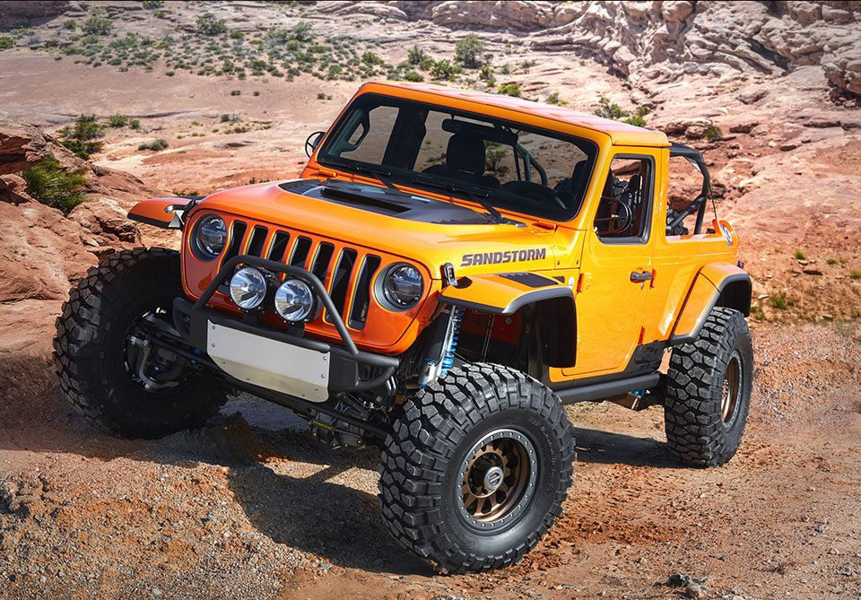 2018 Jeep Mopar Concepts