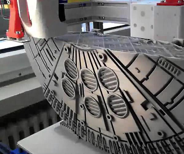 Millennium Falcon Giant 3D Print