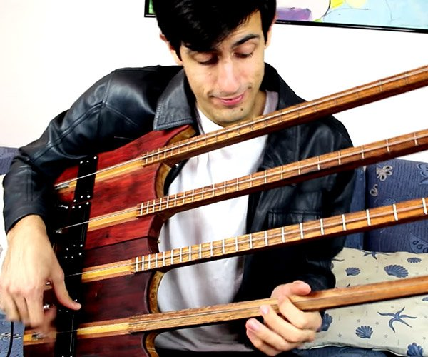 The Quad-Neck Bass