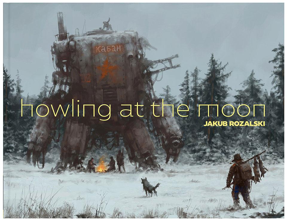 Jakub Rozalski: Howling at the Moon
