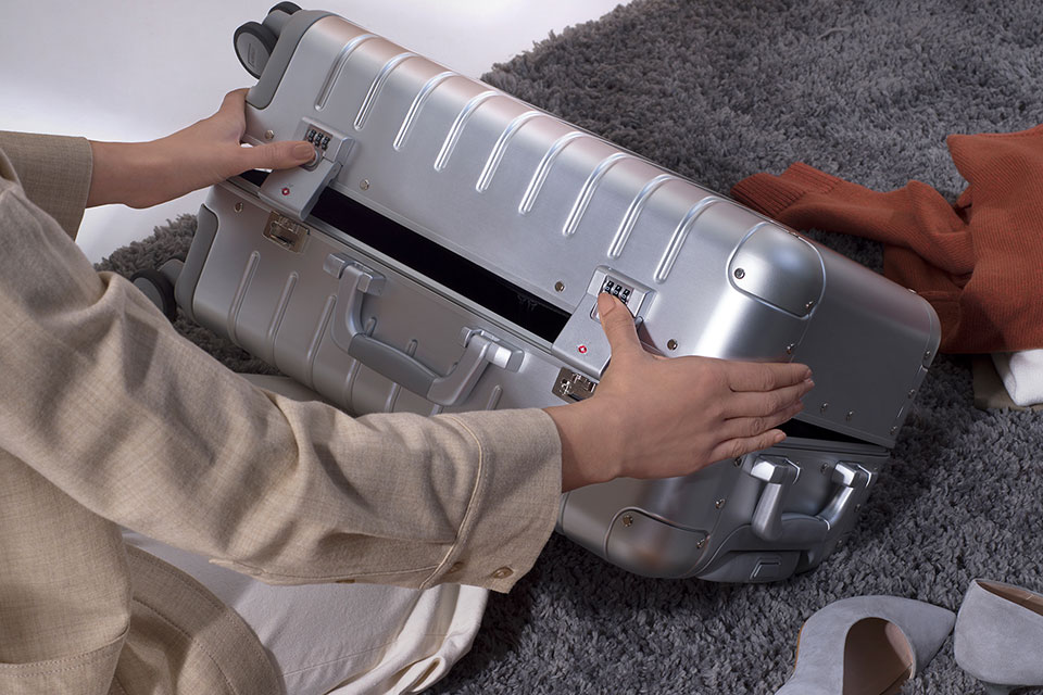 Away Aluminum Luggage