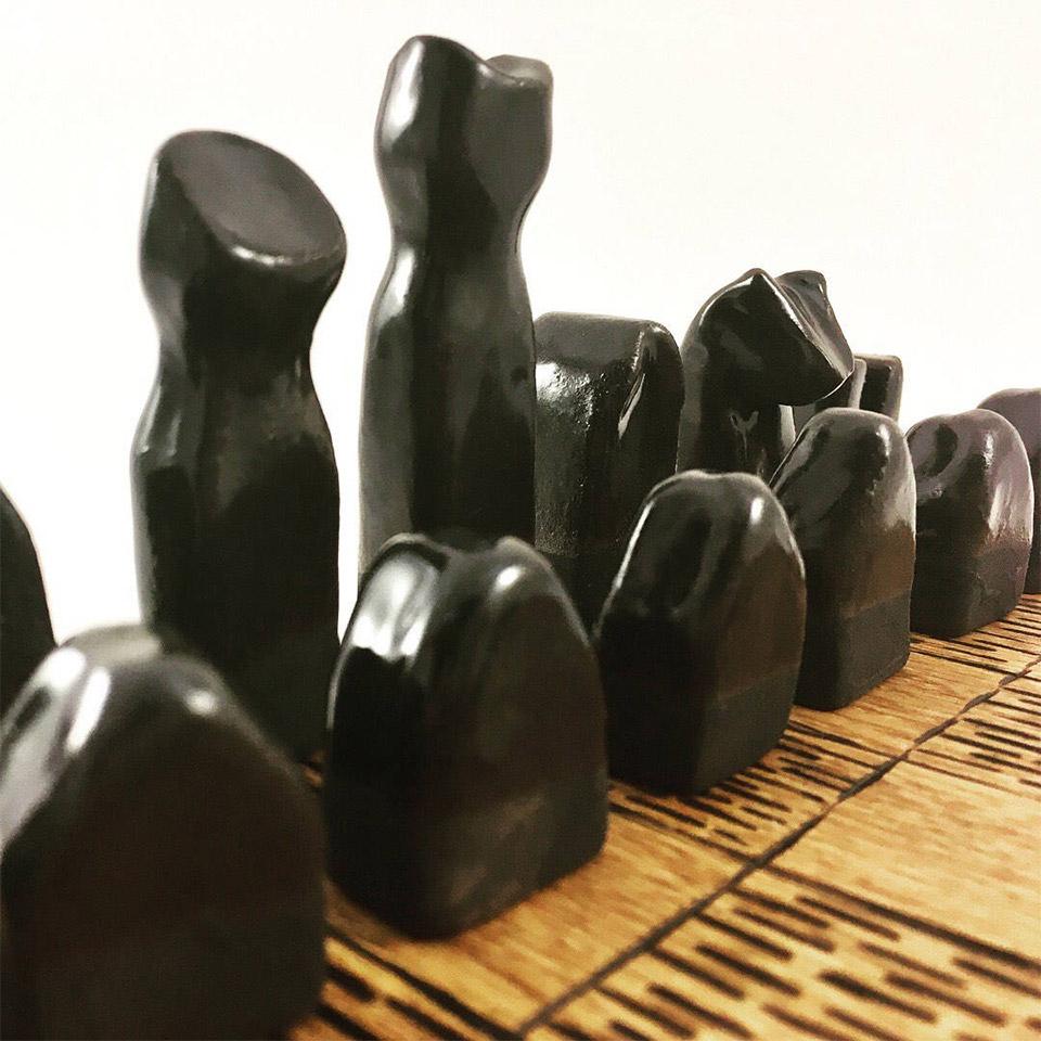 Ceramic Chess Set
