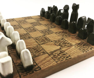 Ceramic Chess Set