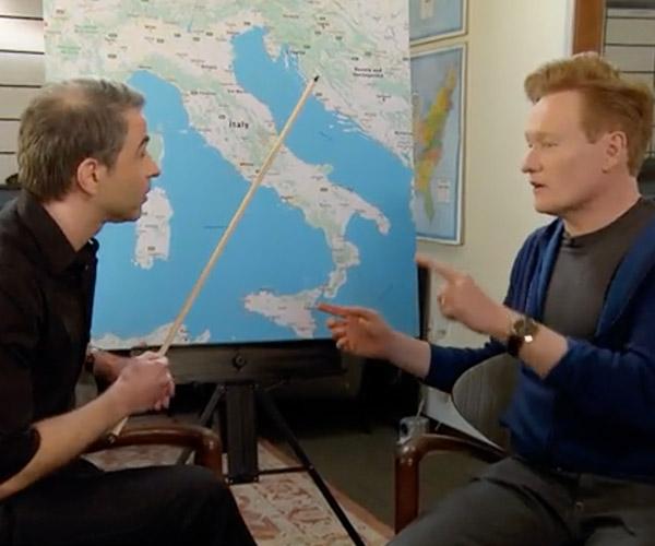 Conan & Jordan Plan a Trip