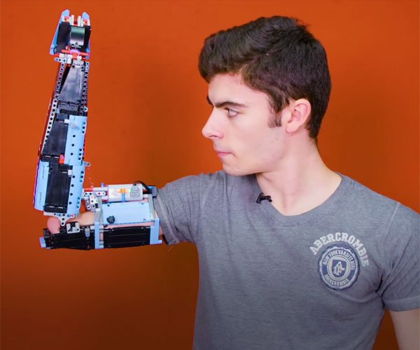 DIY LEGO Prosthetic Arm