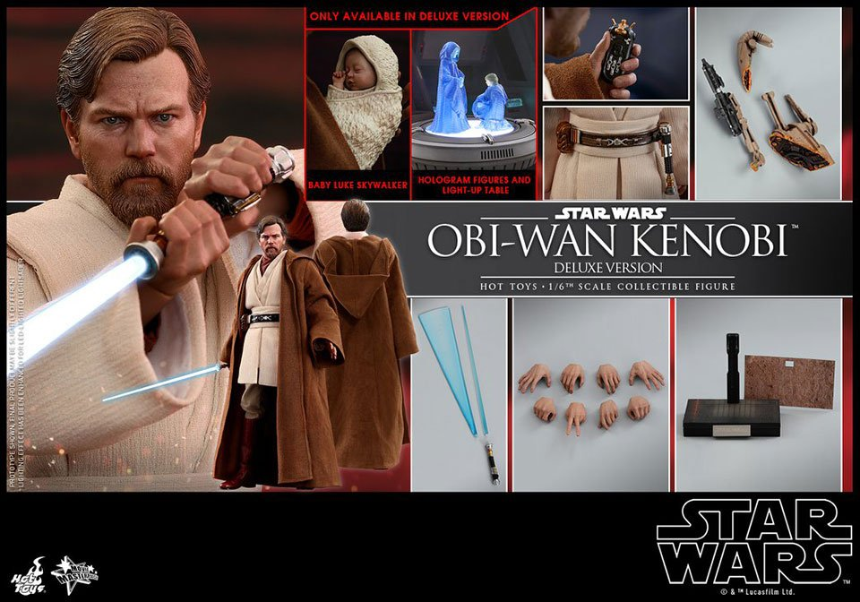 Hot Toys Obi-Wan ROTS Action Figure