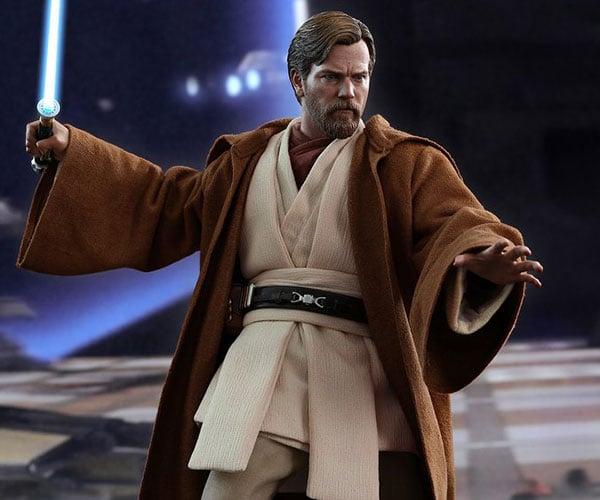 Hot Toys Obi-Wan ROTS Action Figure