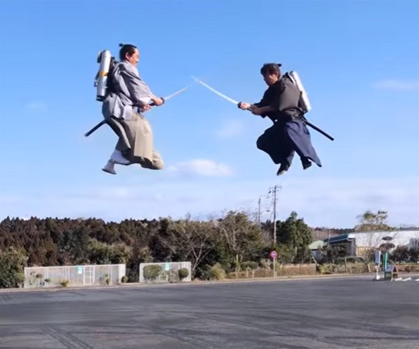 Jetpack Samurai