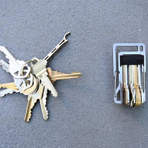 how to keep keys organized